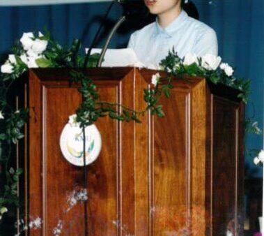 자기목소리 내기 대회 2003.05.24